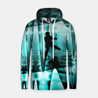 Thumbnail image of Climbing the frozen waterfall Hoody, Live Heroes