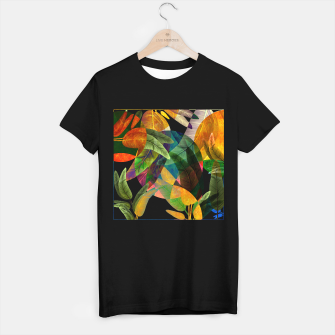 "Miniaturka ""Retro Tropical Tiki Fantasy II"" Camiseta Regular, Live Heroes"