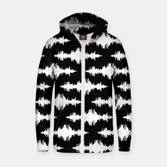 Sound of Thunder Cotton zip up hoodie thumbnail image