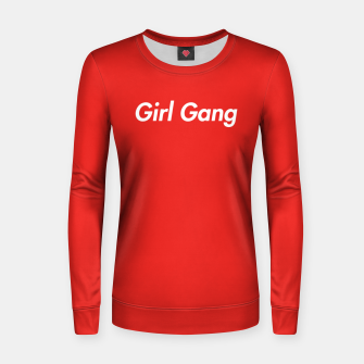 Imagen en miniatura de Girl Gang  Woman cotton sweater, Live Heroes