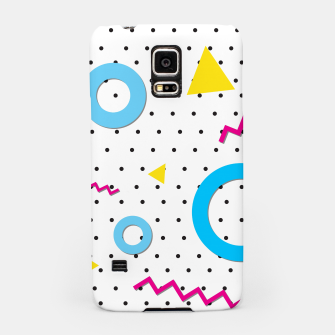 Thumbnail image of Pop art geometric 80s 90s Samsung Case, Live Heroes