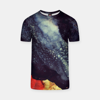 Thumbnail image of Scarlet Abstract T-shirt, Live Heroes