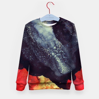 Thumbnail image of Scarlet Abstract Kid's sweater, Live Heroes