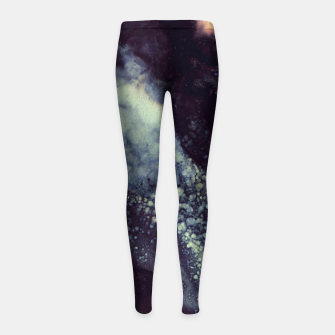 Thumbnail image of Scarlet Abstract Girl's leggings, Live Heroes