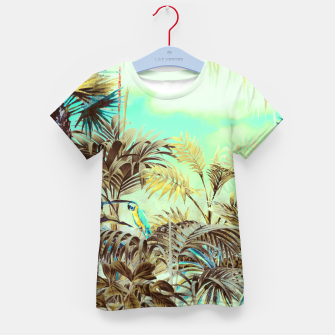 Thumbnail image of Jungle landscape 01 Camiseta para niños, Live Heroes