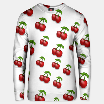 Thumbnail image of Cherries Cotton sweater, Live Heroes