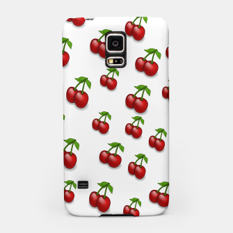 Thumbnail image of Cherries Samsung Case, Live Heroes
