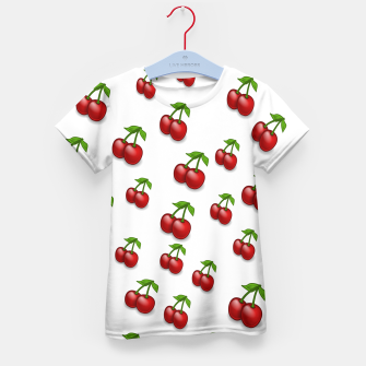 Thumbnail image of Cherries Kid's t-shirt, Live Heroes