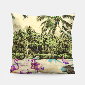 Thumbnail image of Flamingos on the beach 01 Almohada, Live Heroes