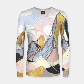 Thumbnail image of Summer Morning Woman cotton sweater, Live Heroes