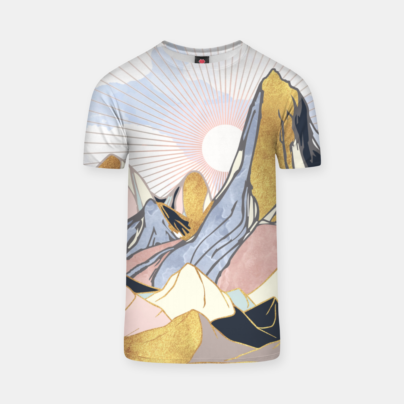 Image of Summer Morning T-shirt - Live Heroes