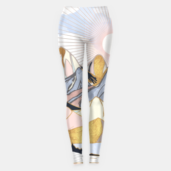 Thumbnail image of Summer Morning Leggings, Live Heroes
