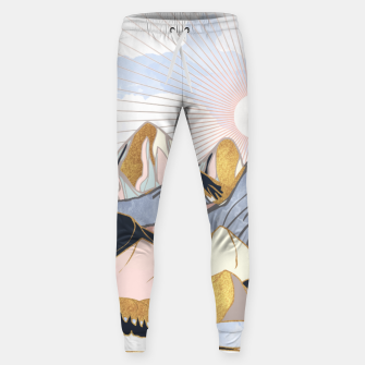 Thumbnail image of Summer Morning Cotton sweatpants, Live Heroes