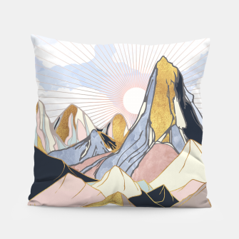 Thumbnail image of Summer Morning Pillow, Live Heroes