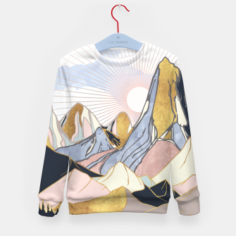 Thumbnail image of Summer Morning Kid's sweater, Live Heroes