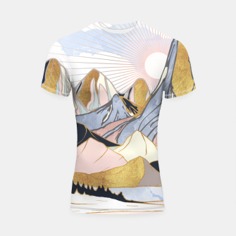 Thumbnail image of Summer Morning Shortsleeve rashguard, Live Heroes