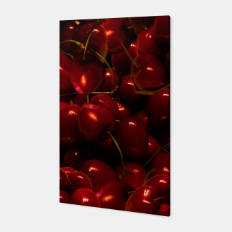 Thumbnail image of Red Cherries Canvas, Live Heroes