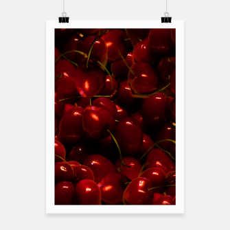 Thumbnail image of Red Cherries Poster, Live Heroes