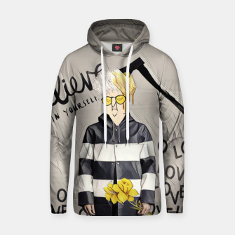 Thumbnail image of Love Cotton hoodie, Live Heroes