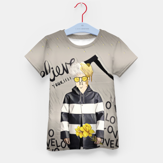 Thumbnail image of Love Kid's t-shirt, Live Heroes