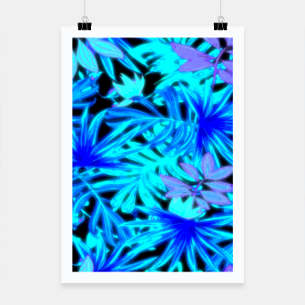 Thumbnail image of Tropical Leaves Poster, Live Heroes