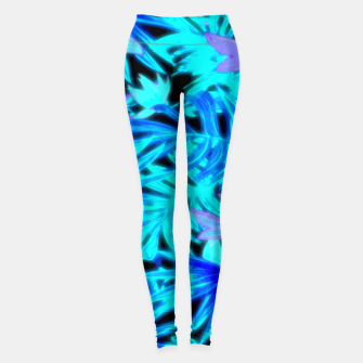 Thumbnail image of Tropical Leaves Leggings, Live Heroes