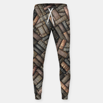 Thumbnail image of I've Read Every Word Cotton sweatpants, Live Heroes