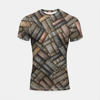 Thumbnail image of I've Read Every Word Shortsleeve rashguard, Live Heroes