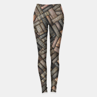 Thumbnail image of I've Read Every Word Leggings, Live Heroes
