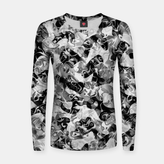 Thumbnail image of camo Woman cotton sweater, Live Heroes