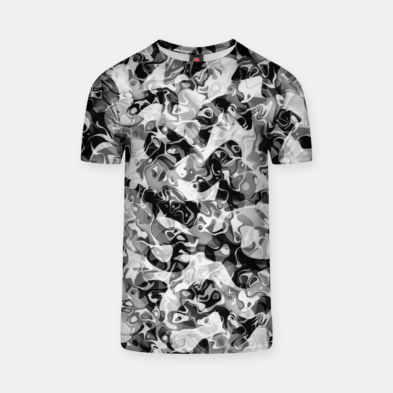Image of camo T-shirt - Live Heroes