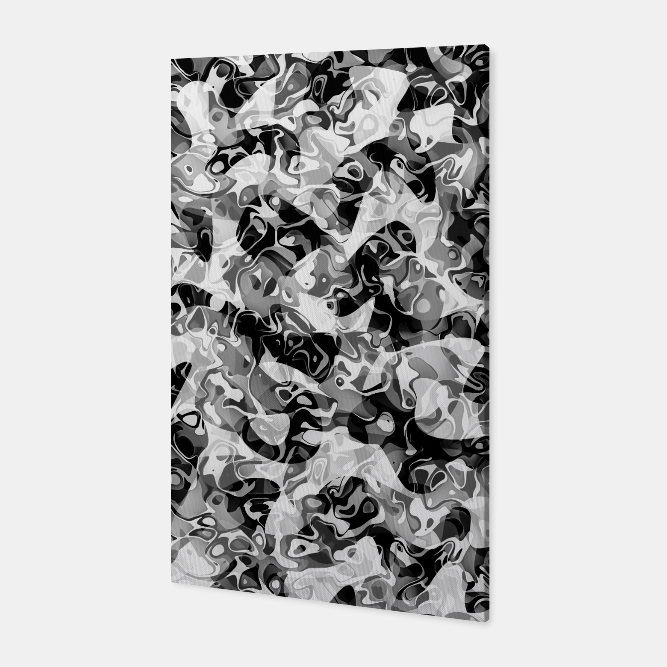 Image of camo Canvas - Live Heroes