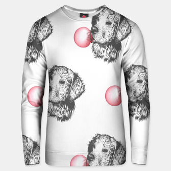 Thumbnail image of Bubblegum Dog Cotton sweater, Live Heroes