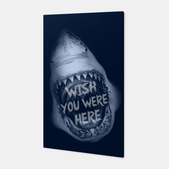 WISH YOU WERE HERE Canvas miniature