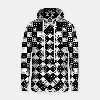 Thumbnail image of AFF4040315 M8I135O225 BWSquares Cotton hoodie, Live Heroes