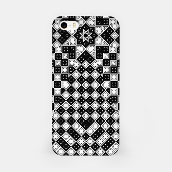 Thumbnail image of AFF4040315 M8I135O225 BWSquares iPhone Case, Live Heroes