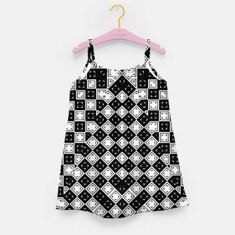 Thumbnail image of AFF4040315 M8I135O225 BWSquares Girl's dress, Live Heroes