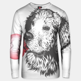 Thumbnail image of Bubble Gum Dog Cotton sweater, Live Heroes