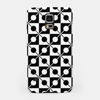 Miniaturka Black White Squares, Circles & Lines Samsung Case, Live Heroes
