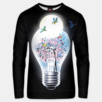 Miniature de image de Lifebulb  Cotton sweater, Live Heroes