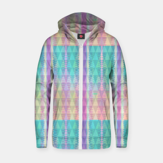 Thumbnail image of Shades of Joy Cotton zip up hoodie, Live Heroes