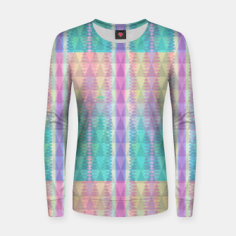 Thumbnail image of Shades of Joy Woman cotton sweater, Live Heroes