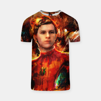 Thumbnail image of spider man T-shirt, Live Heroes