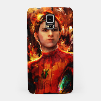 Thumbnail image of spider man Samsung Case, Live Heroes