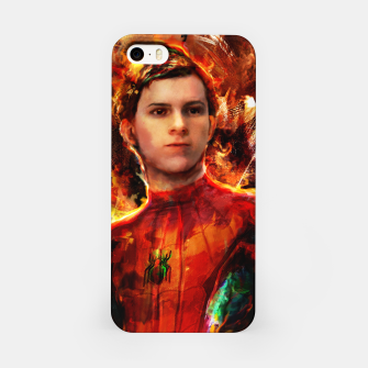 Thumbnail image of spider man iPhone Case, Live Heroes