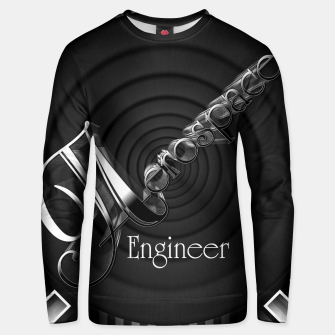 Thumbnail image of Aerospace Engineer Deco Flare Cotton sweater, Live Heroes