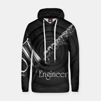 Thumbnail image of Aerospace Engineer Deco Flare Cotton hoodie, Live Heroes