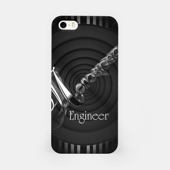 Aerospace Engineer Deco Flare iPhone Case thumbnail image