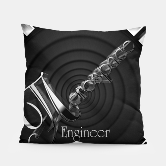 Aerospace Engineer Deco Flare Pillow thumbnail image