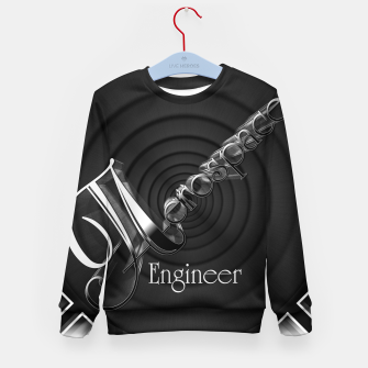 Aerospace Engineer Deco Flare Kid's sweater thumbnail image